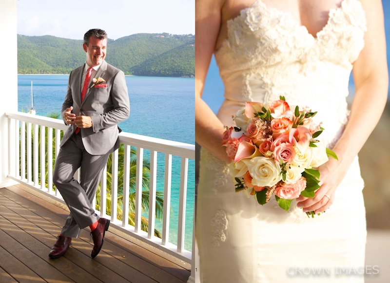 wedding flowers st thomas east end flowers