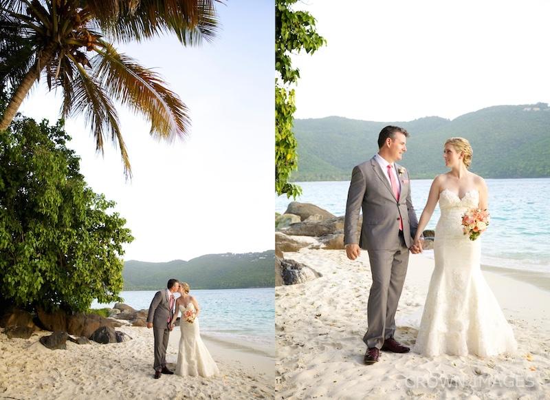 sunset wedding st thomas