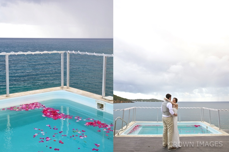 wedding reception on st thomas photo by crown images
