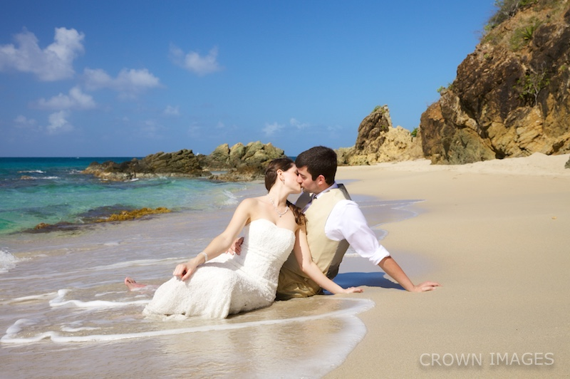 trash the dress virgin islands crown images