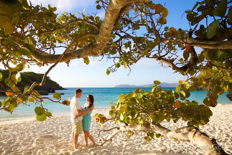 best beach on st john for photos by crown images