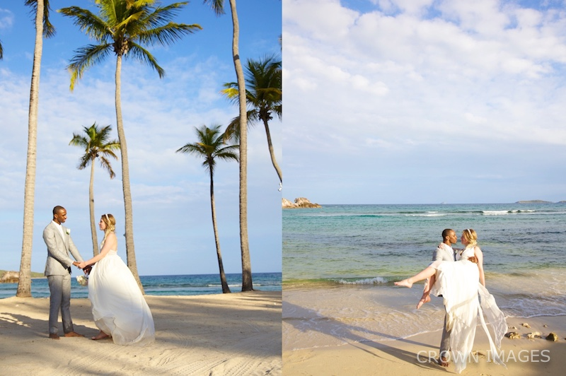 bolongo bay beach wedding