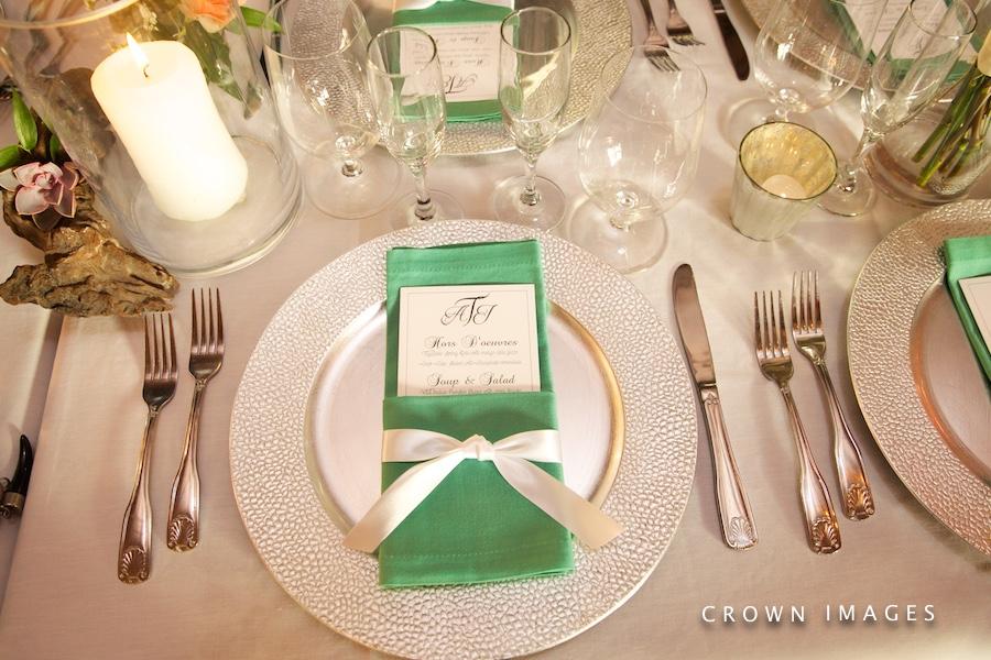 wedding reception on st john