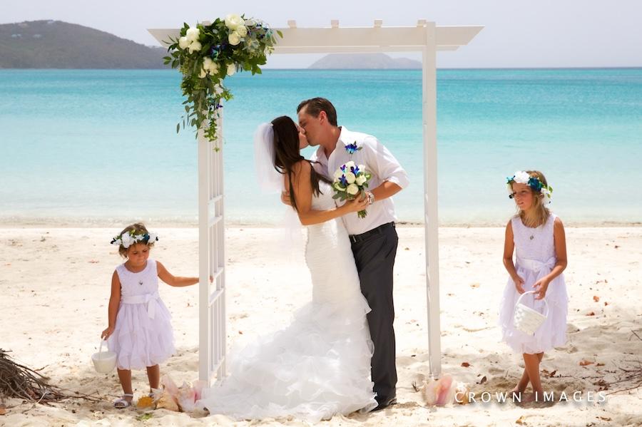 best beach for a beach wedding on st thomas