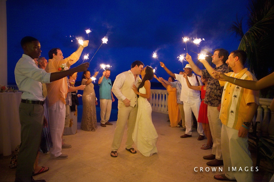 wedding reception photos st thomas