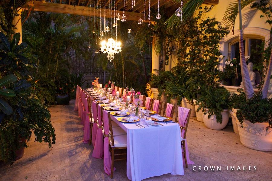 wedding at serenita villa st thomas