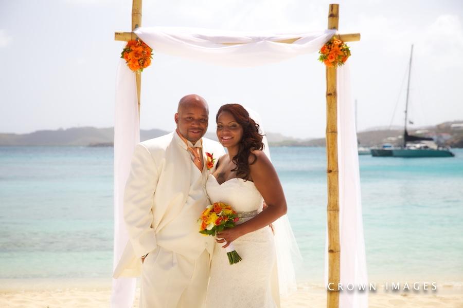resort wedding on the beach st thomas