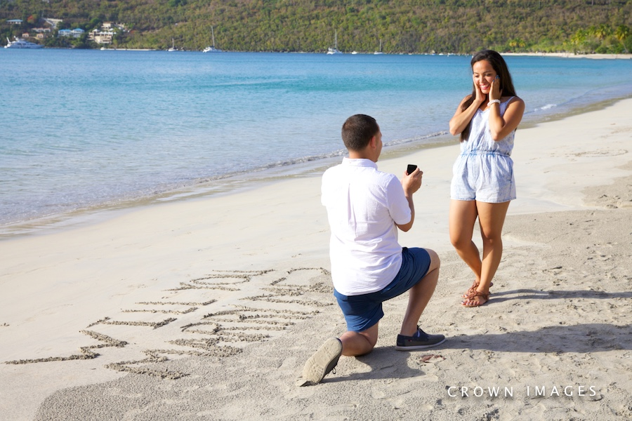will you marry me on st thomas