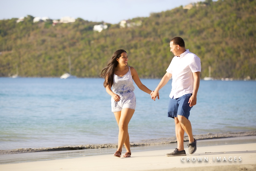 best location for engagement photos on st thomas