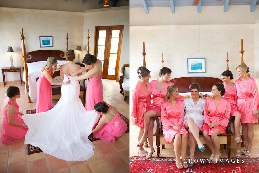 pre wedding photos at a villa on st john