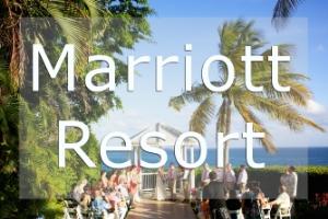 Marriott Resort Wedding Photos