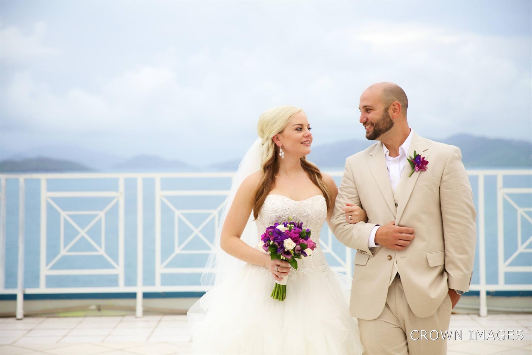 wedding at dreams sugar bay st thomas