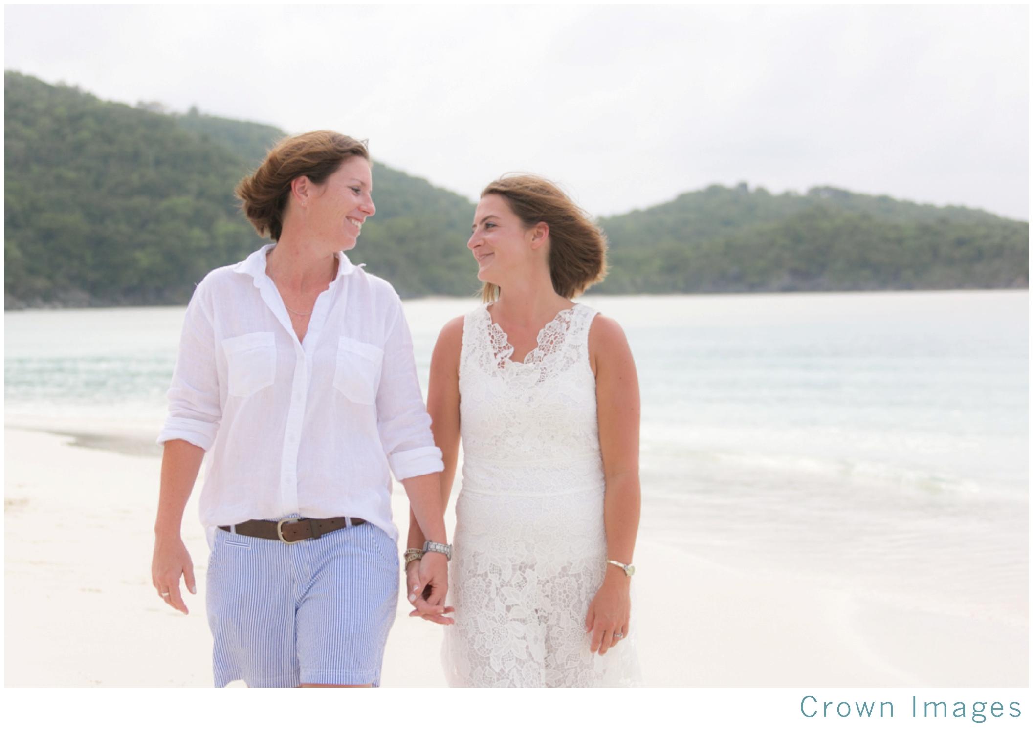 lgbt wedding in the virgin islands