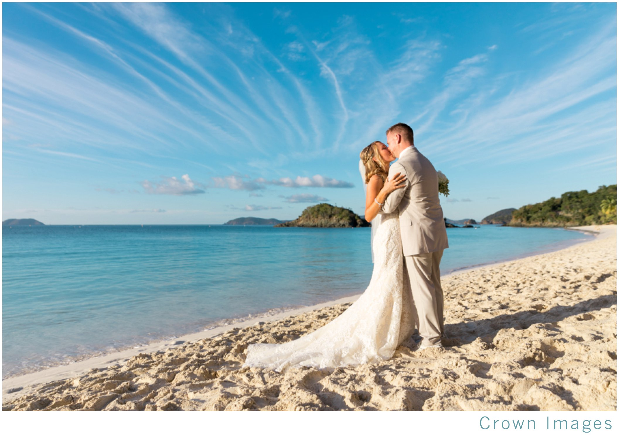 st john wedding at trunk bay beach