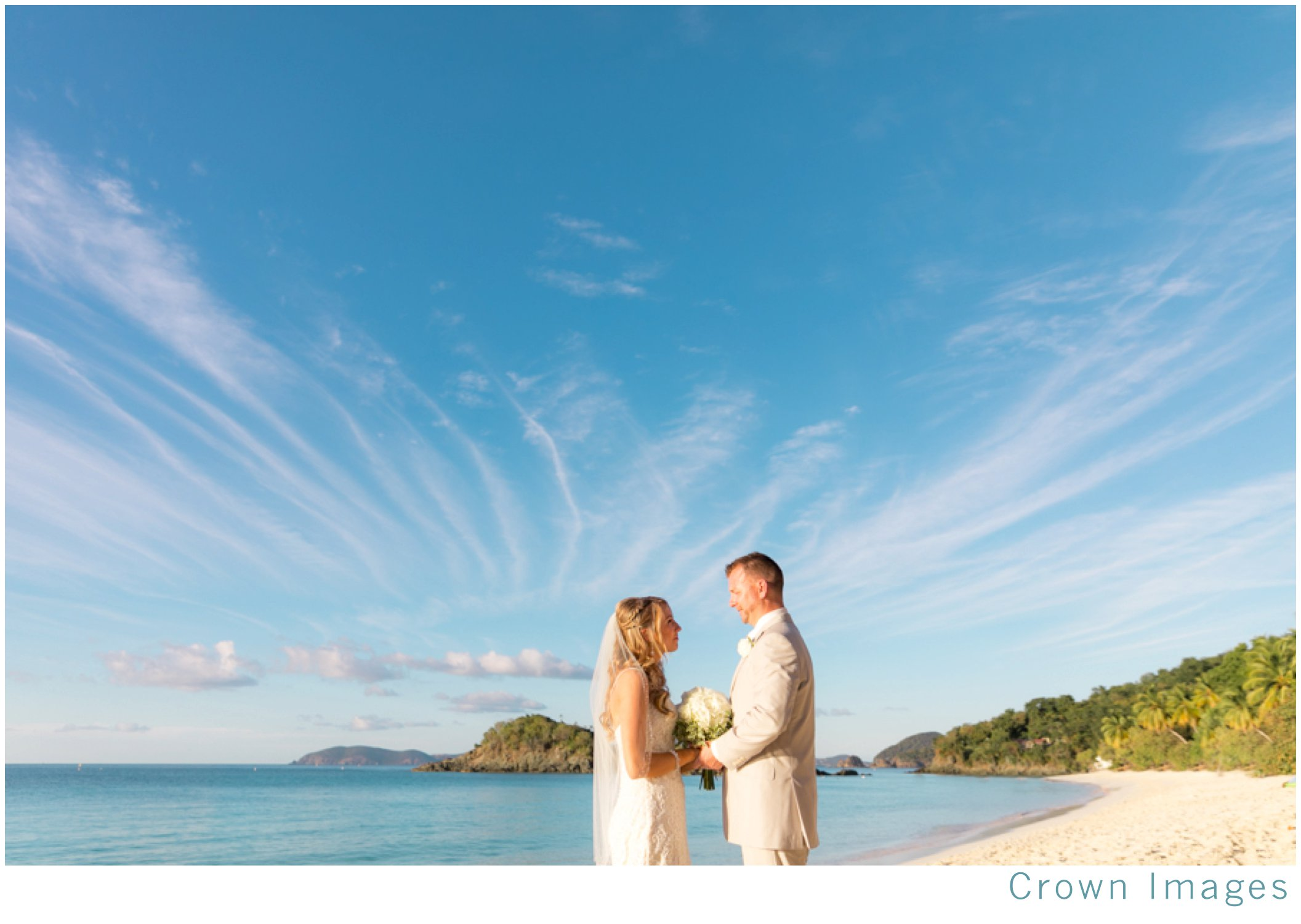 best location for a st john beach wedding