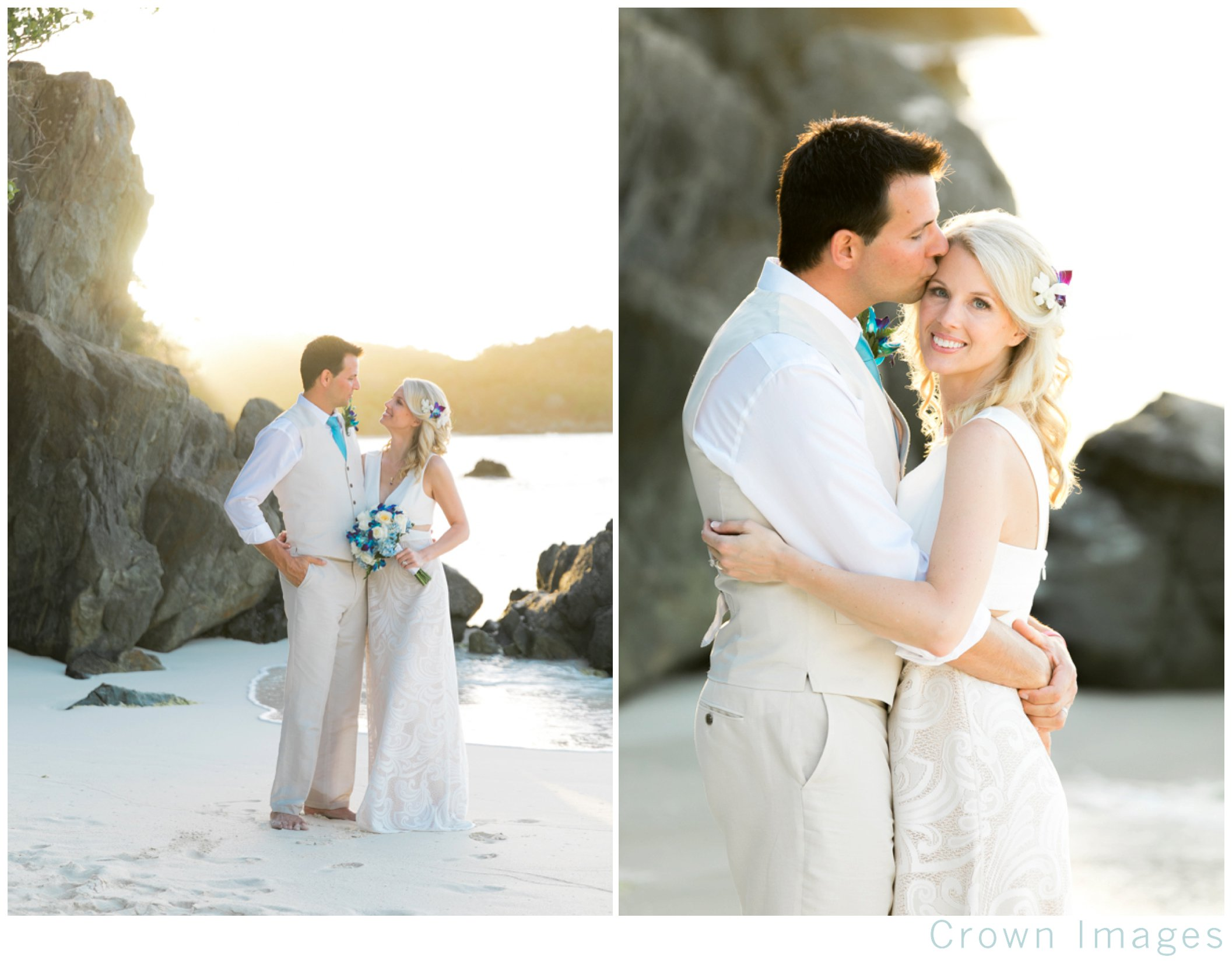 virgin islands beach wedding