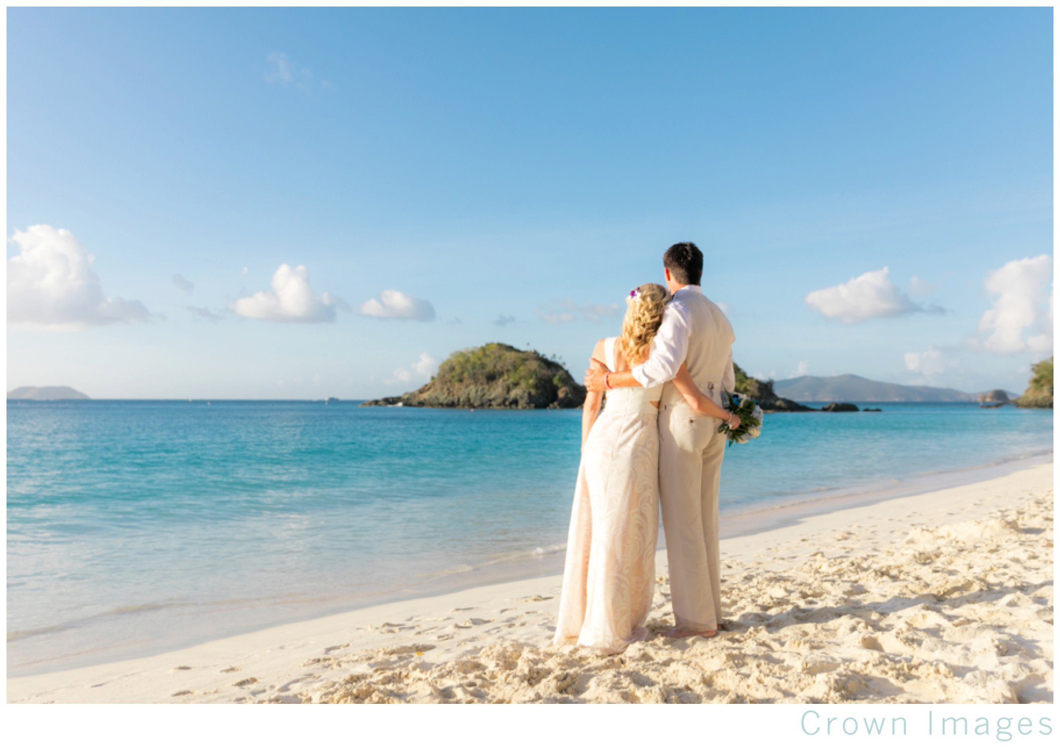 best beach for wedding photos on st john
