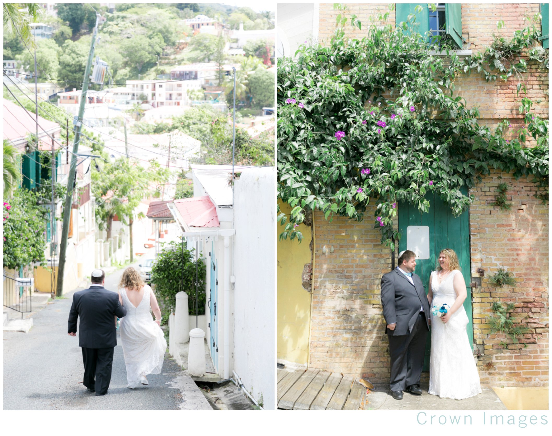 synagogue wedding on st thomas