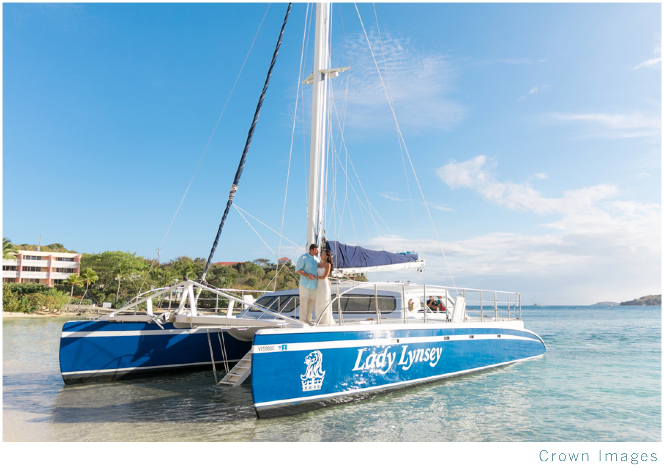 lady lynsey on st thomas is perfect for a wedding group