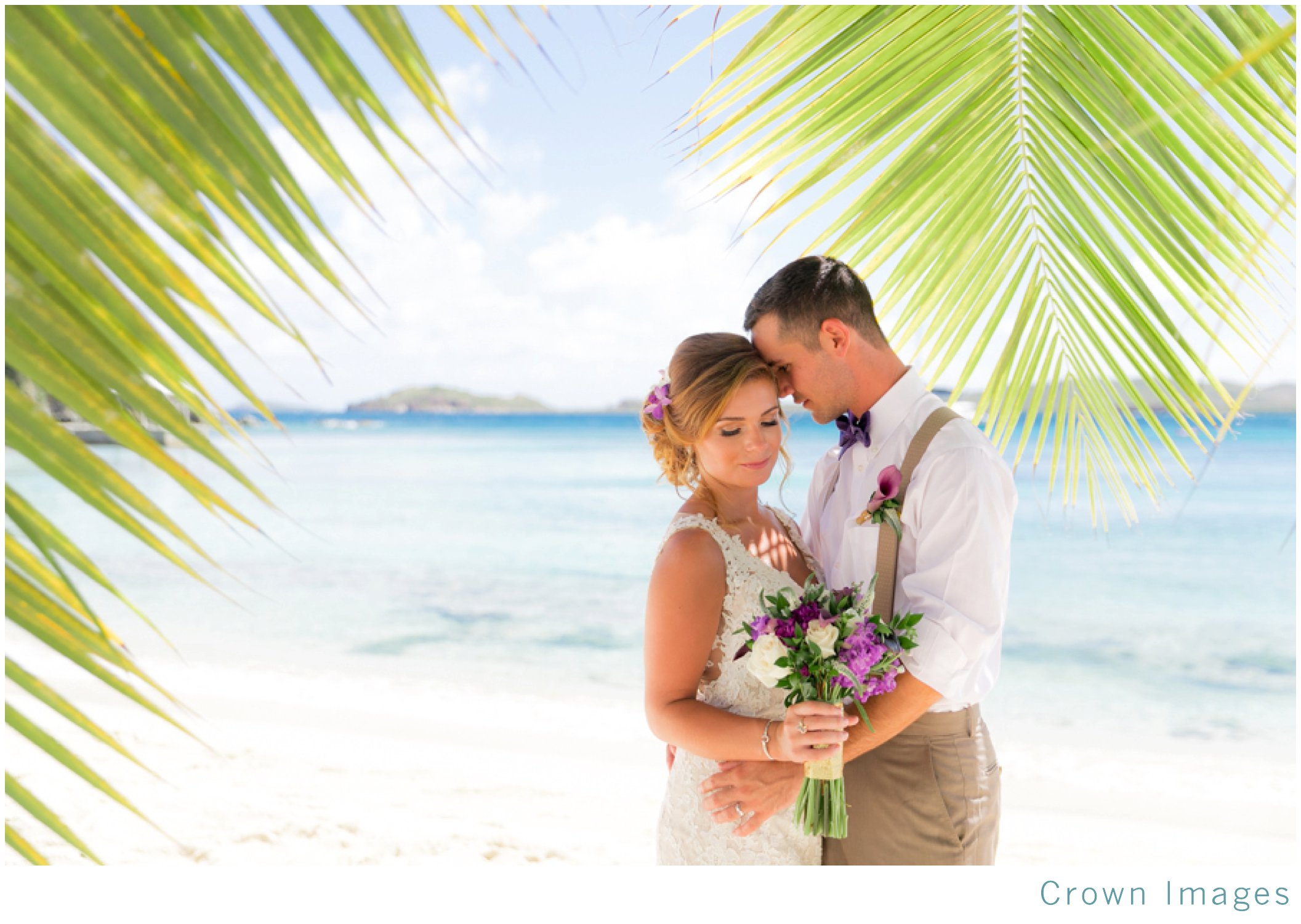 secret harbor beach wedding on st thomas