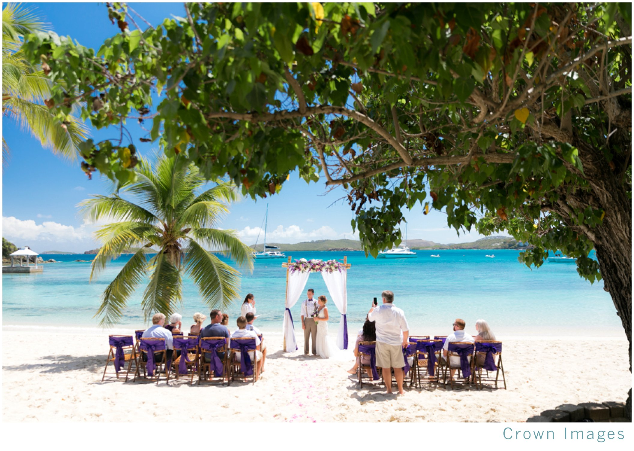 st thomas wedding at secret harbor beach resort
