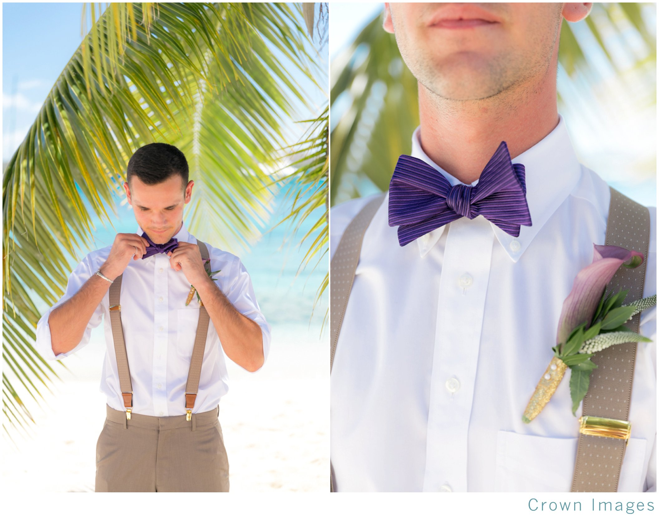 groom attire for a beach wedding on st thomas