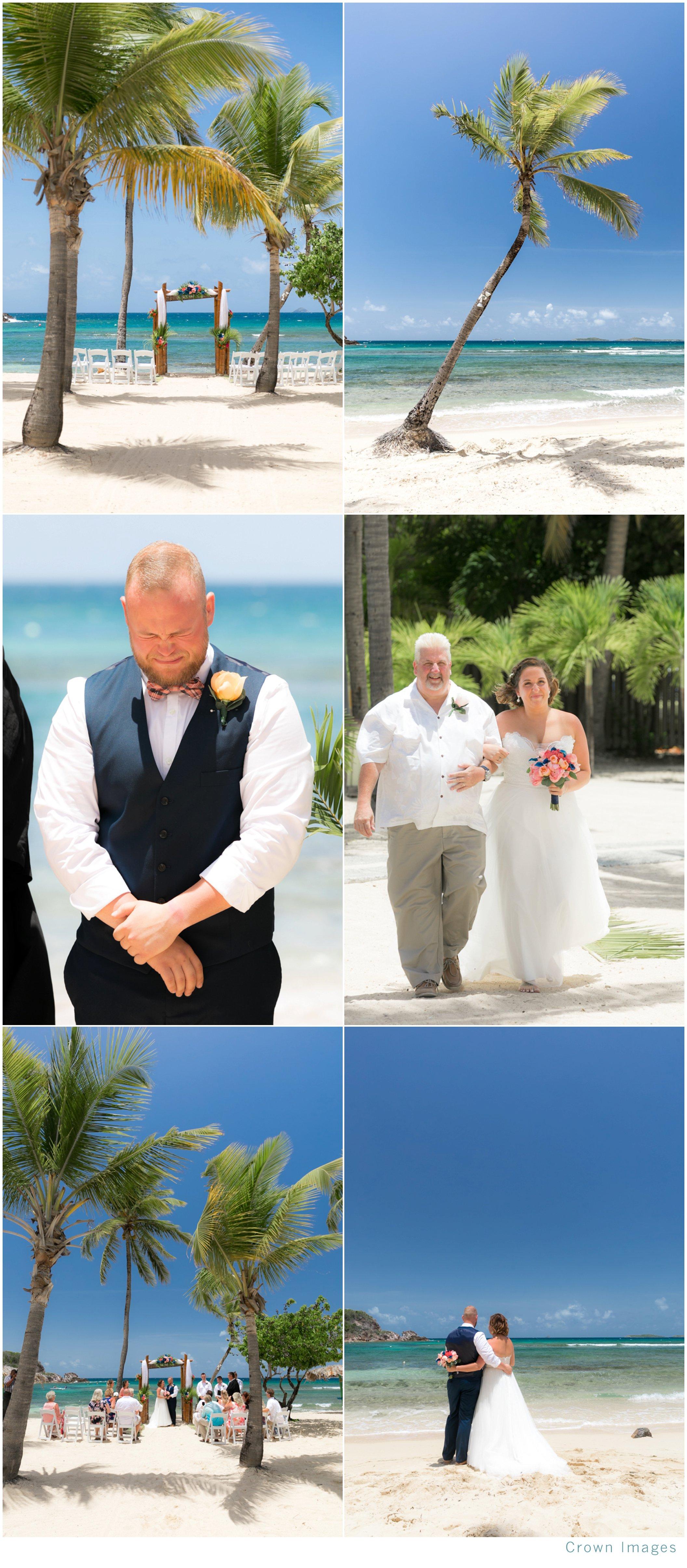 bolongo bay beach resort wedding