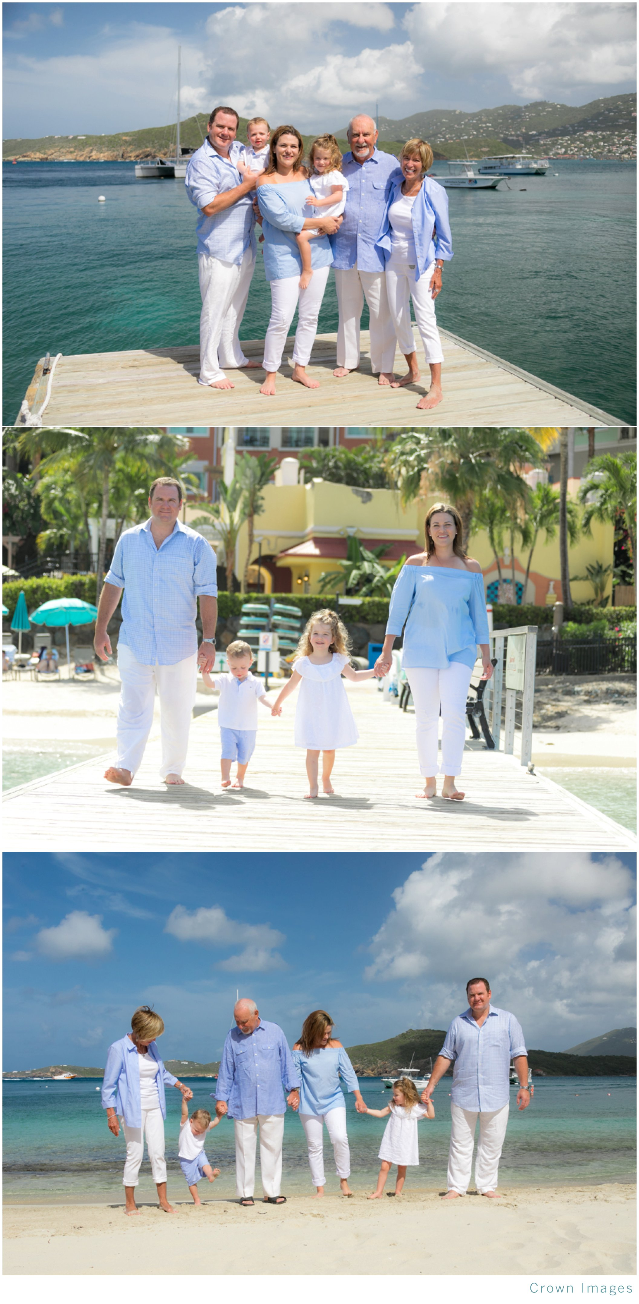 family photos at the cove on st thomas