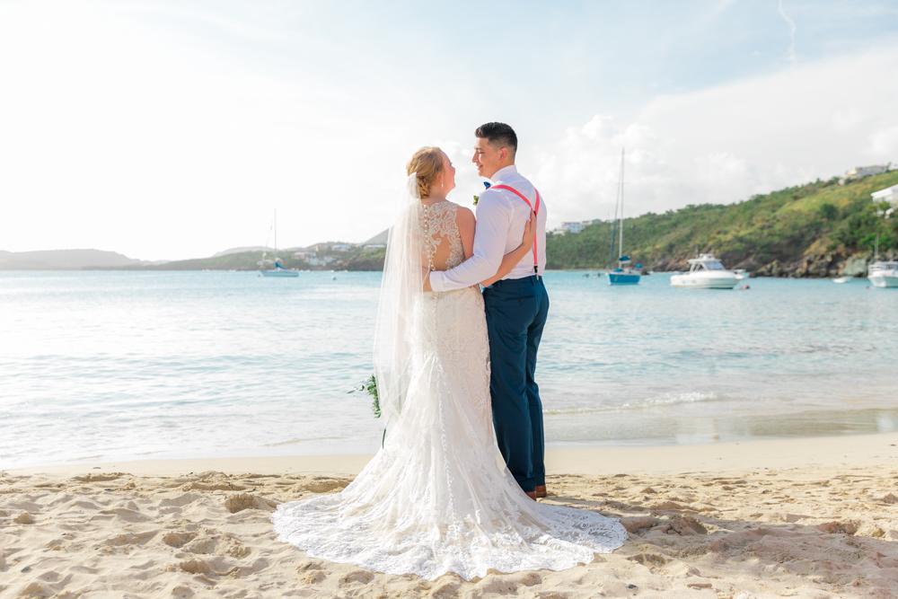 best beach for a st thomas wedding