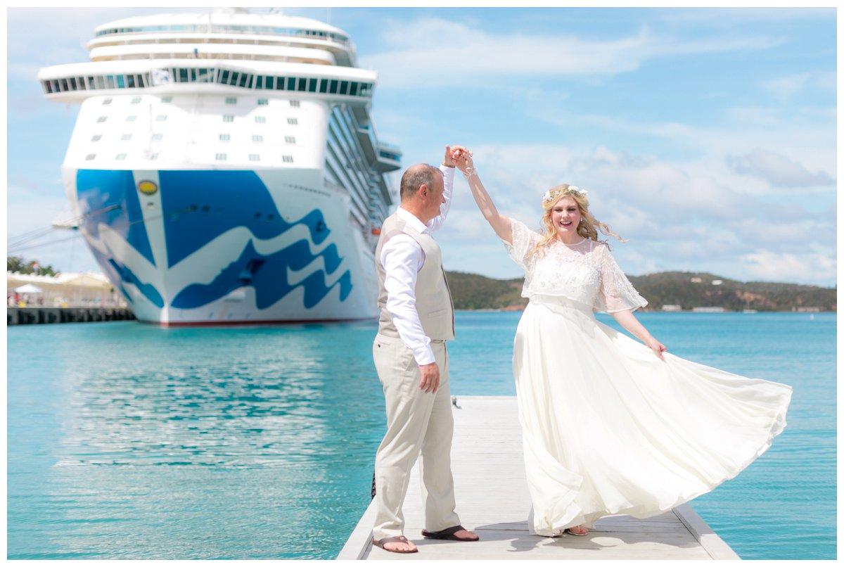 st-thomas-cruise-ship-wedding-photos