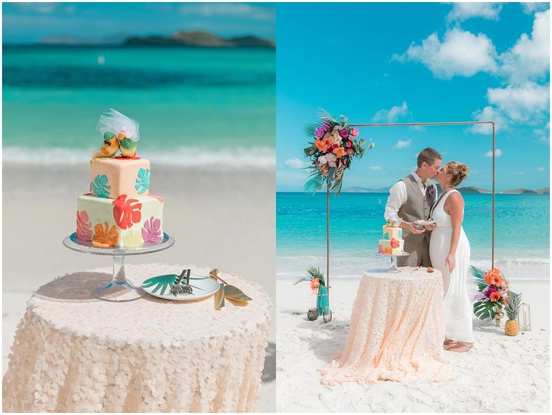 st thomas wedding cake