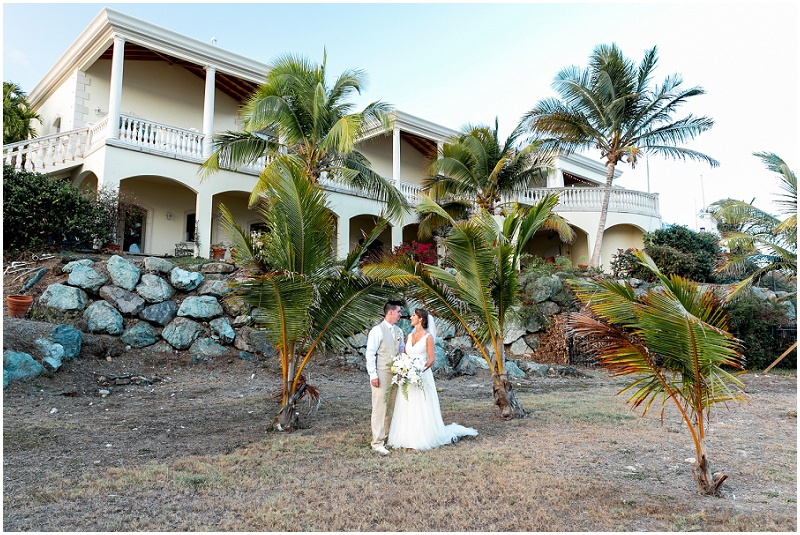 the wedding house villa serenita st thomas virgin islands