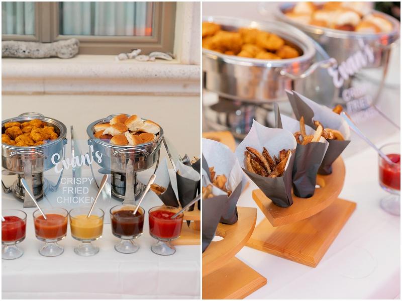 wedding party food ideas