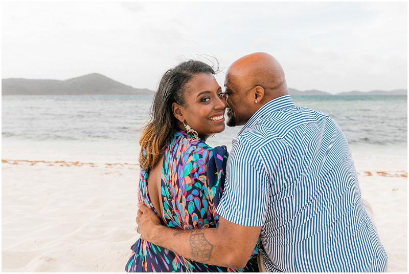 st thomas photographer honeymoon session at the beach