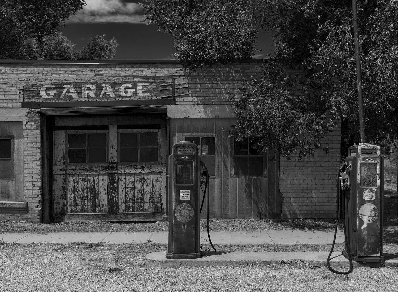 Garage In Time B&W Web.jpg