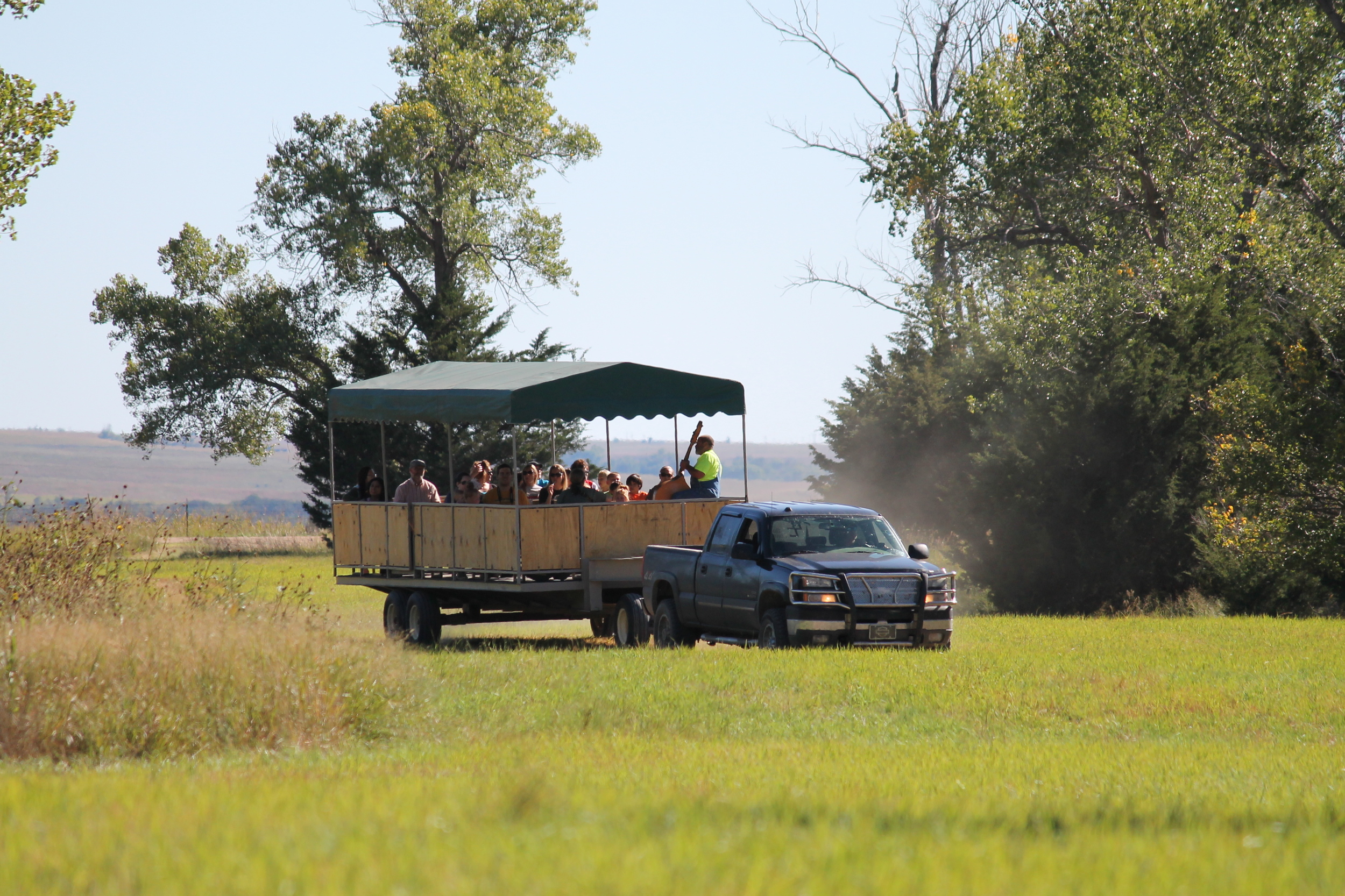Trolley Rides through Scarecrow Meadow