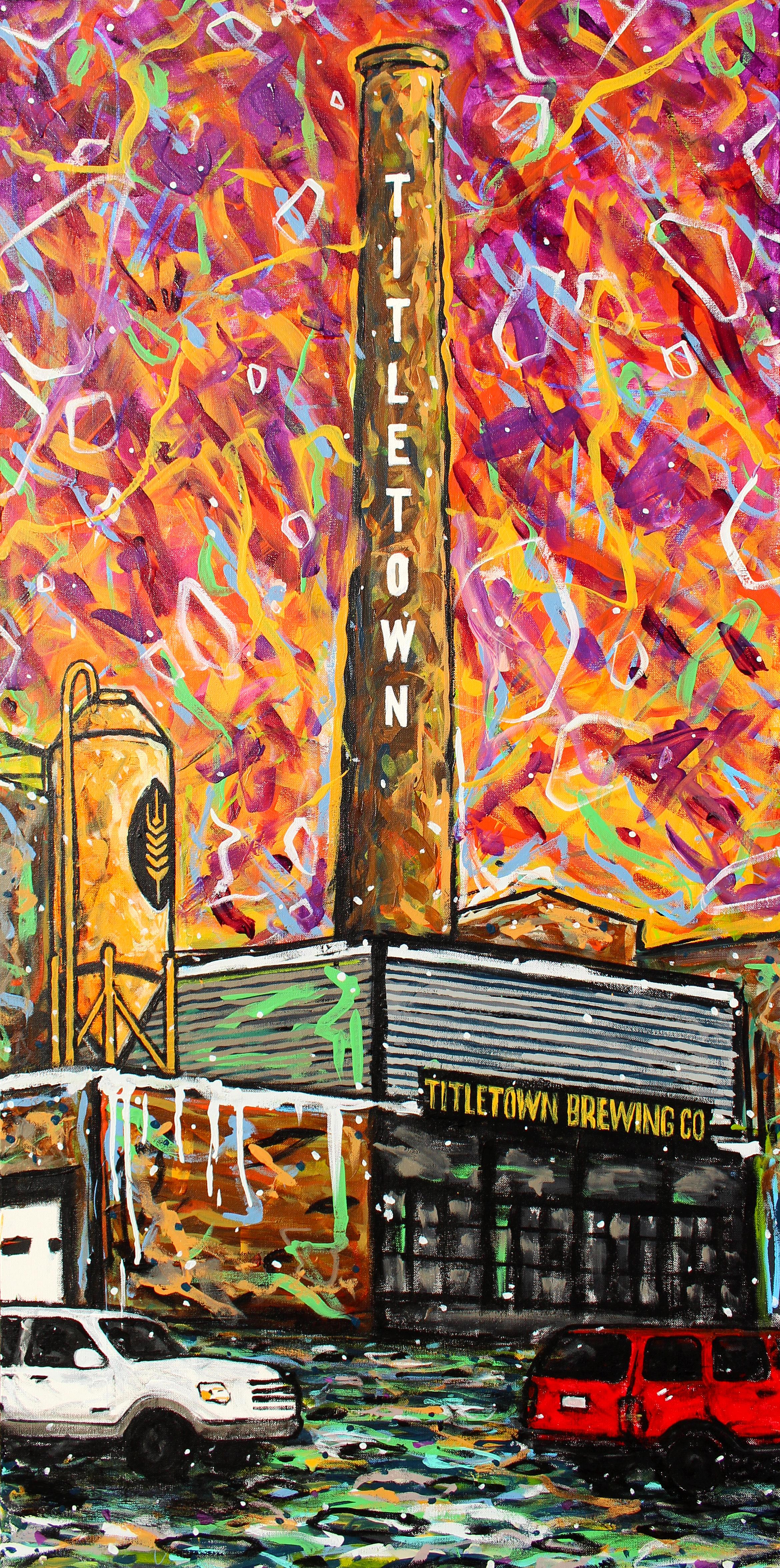 Titletown Smokestack No. 8