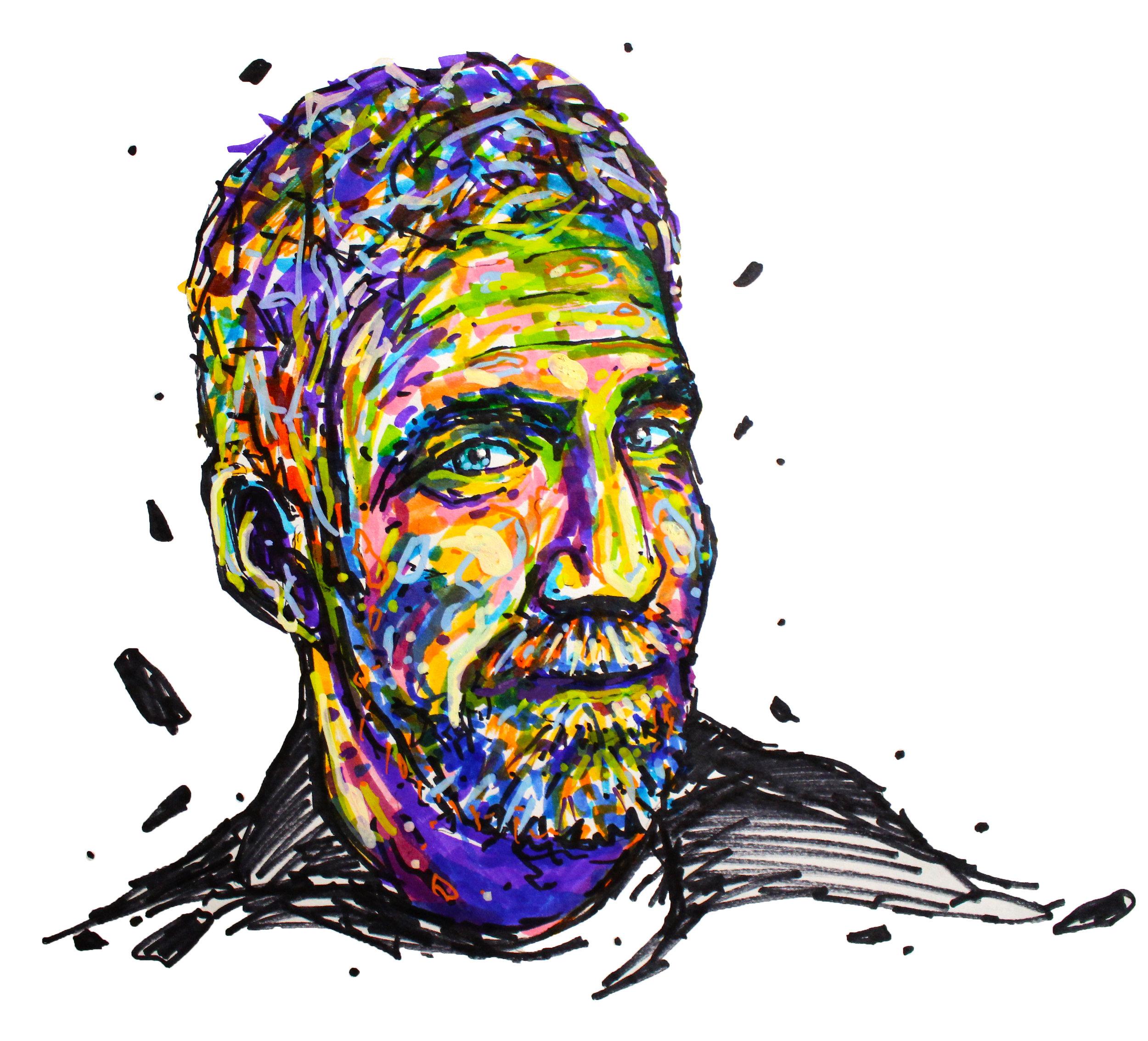 Jim Rivett Memorial Portrait