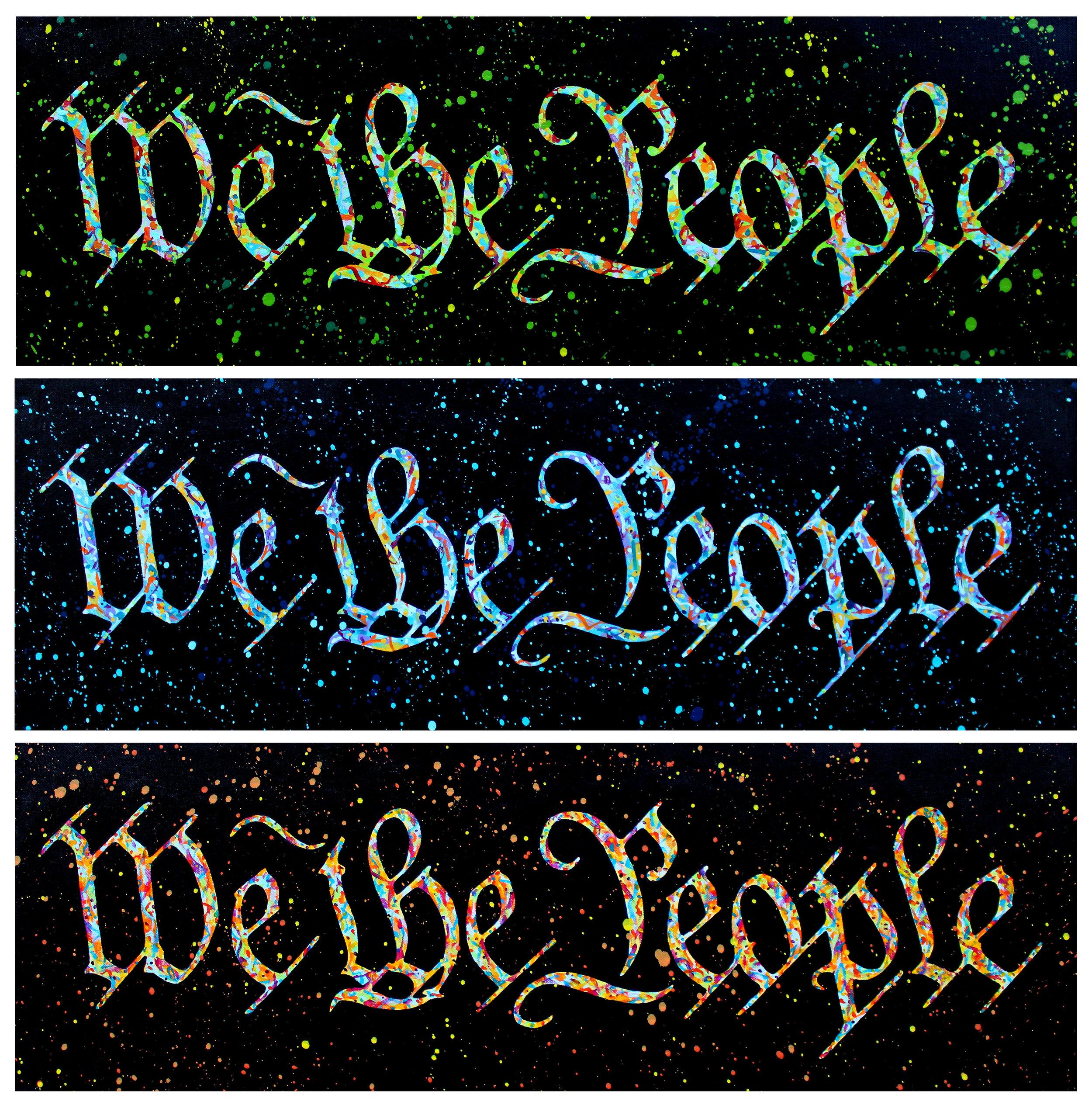 We The People Series - Numbers 1-3
