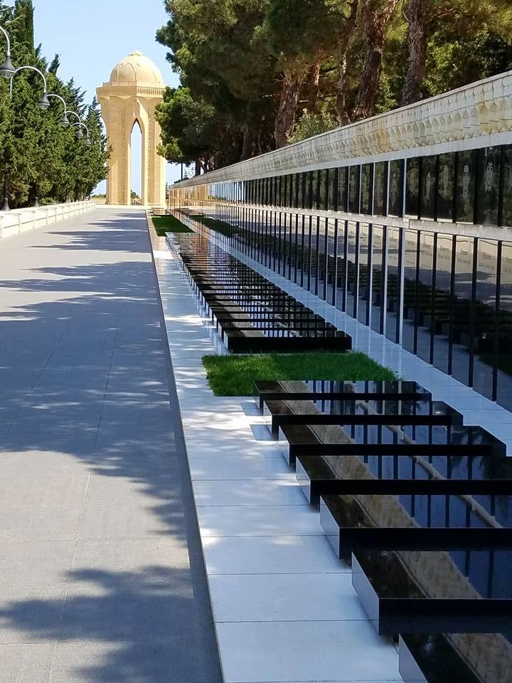 Azerbaijan: Baku Martyrs' Lane