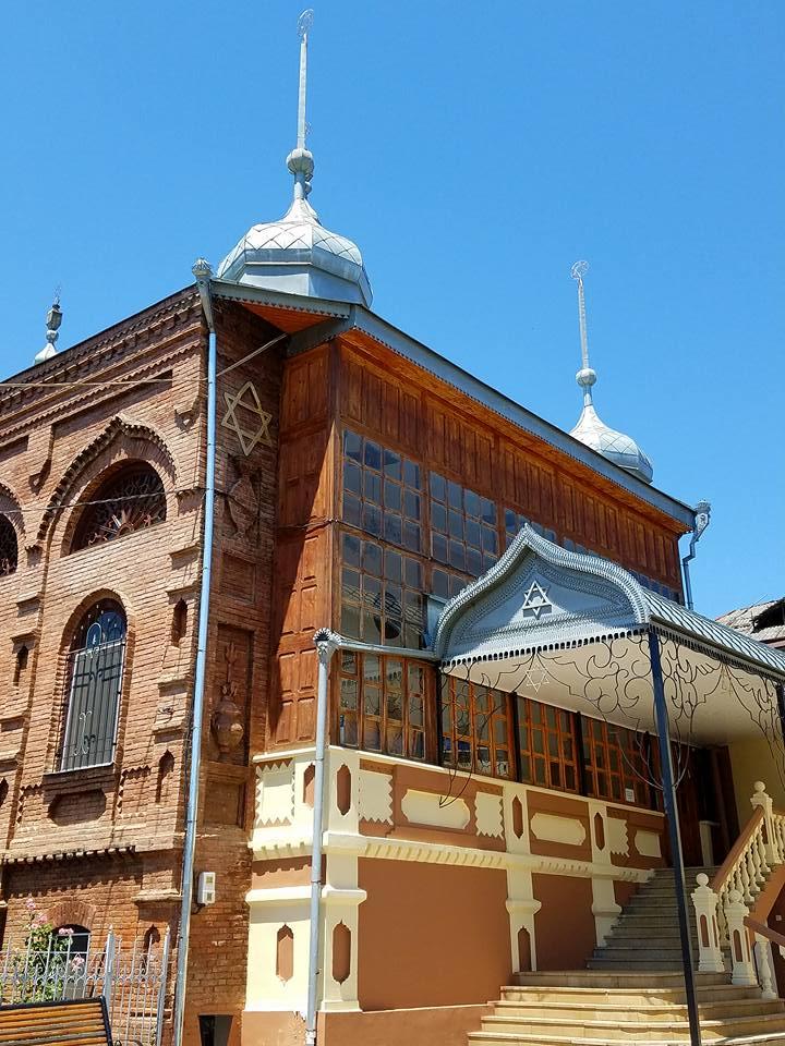 Azerbaijan: Synagogue in Quba