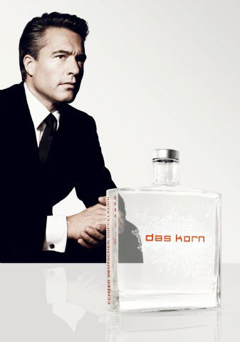 "Theo Ligthart, Marketing Material for ""das korn"" Conceptual Liquor Art-Product, Poster, 2008"