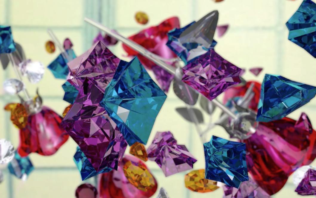 """Nicole Cohen, """"Crystals"""""""