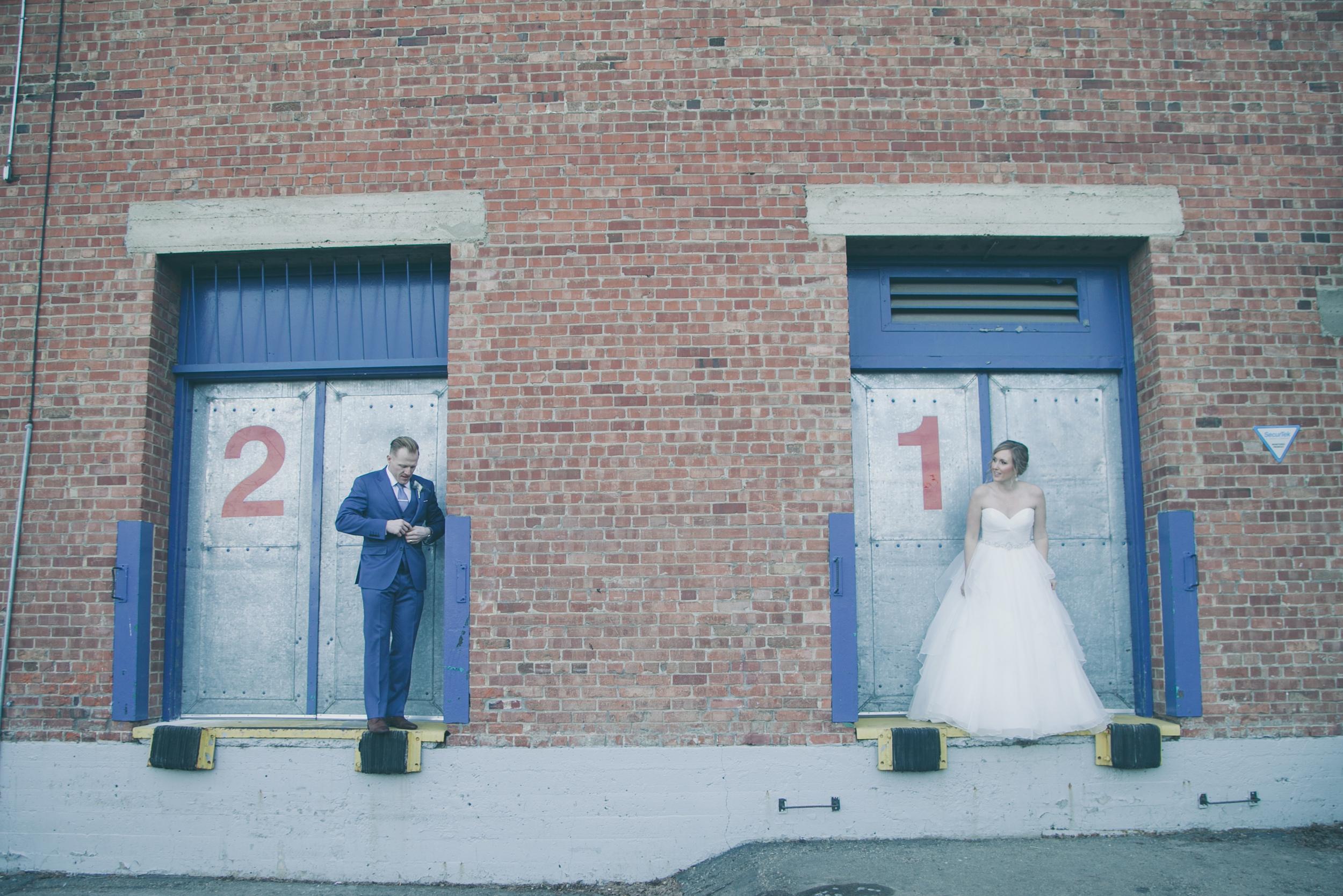 Downtown Edmonton Wedding