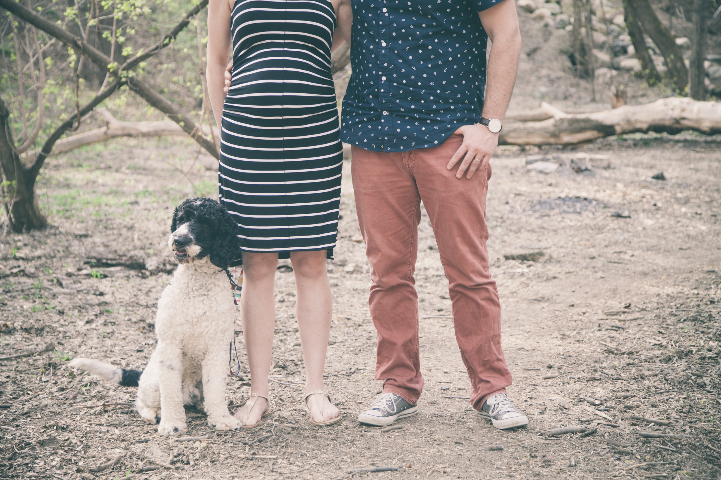 Maternity Photography with Dog