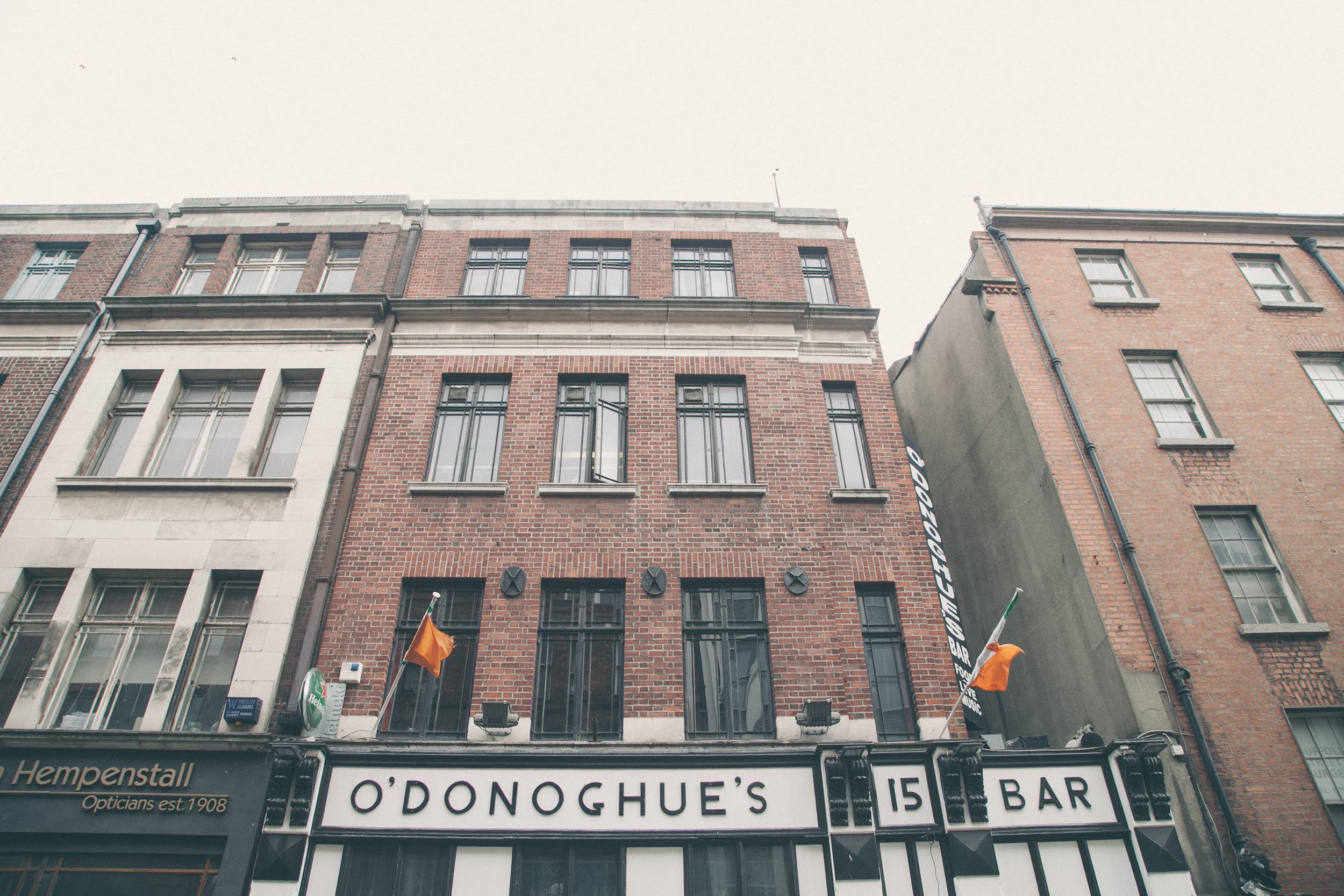 O'Donoghue's Bar Dublin