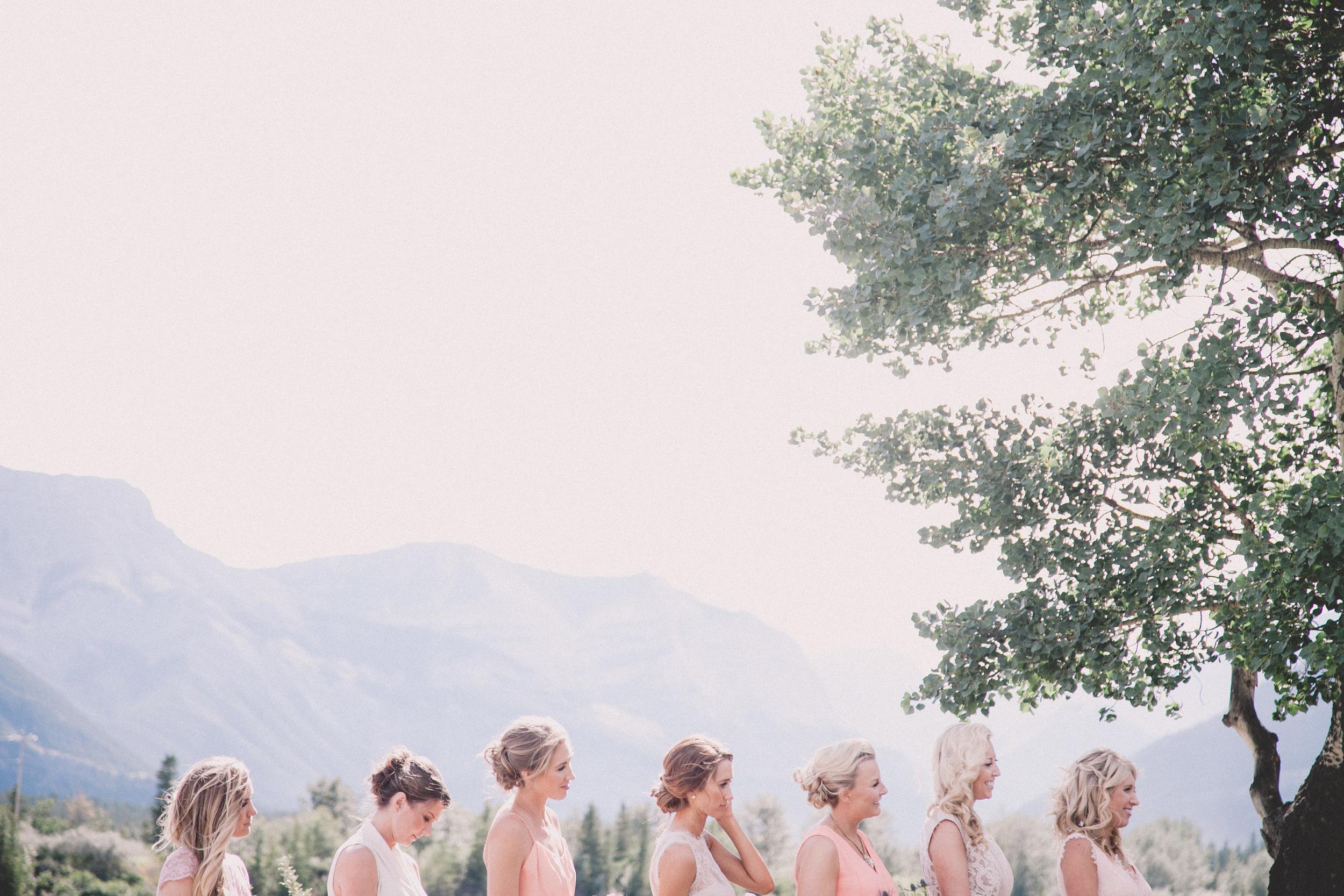 Kananaskis Guest Ranch Bridesmaids