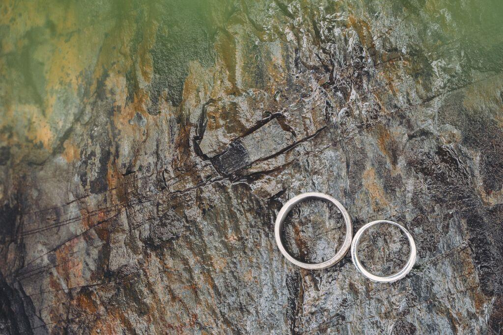Canmore Antler Wedding Rings