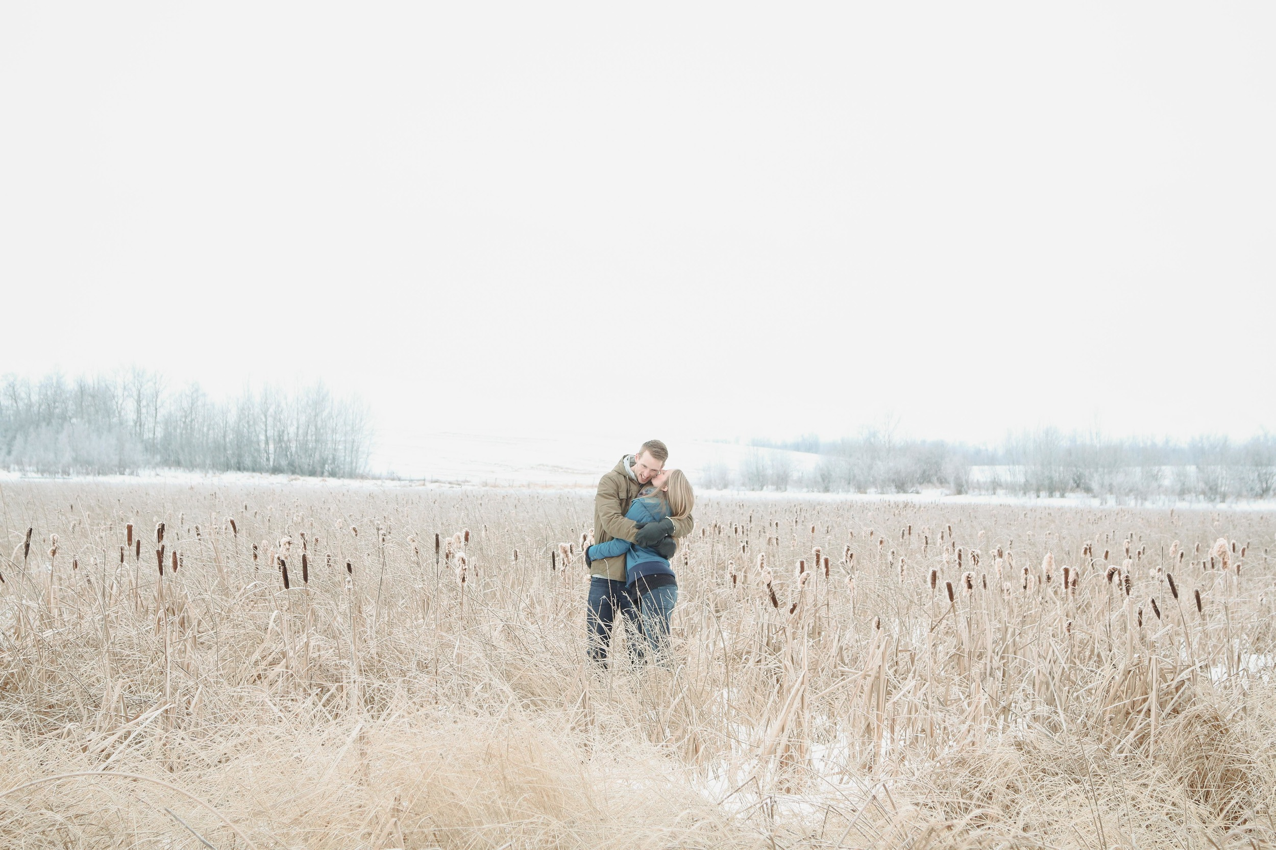 Edmonton acreage engagement