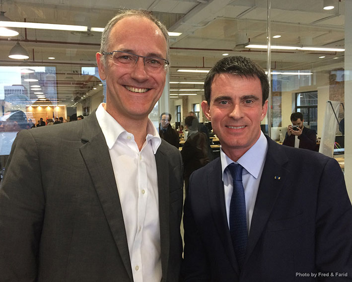 French Prime Minister Meets with NDA's CEO 1